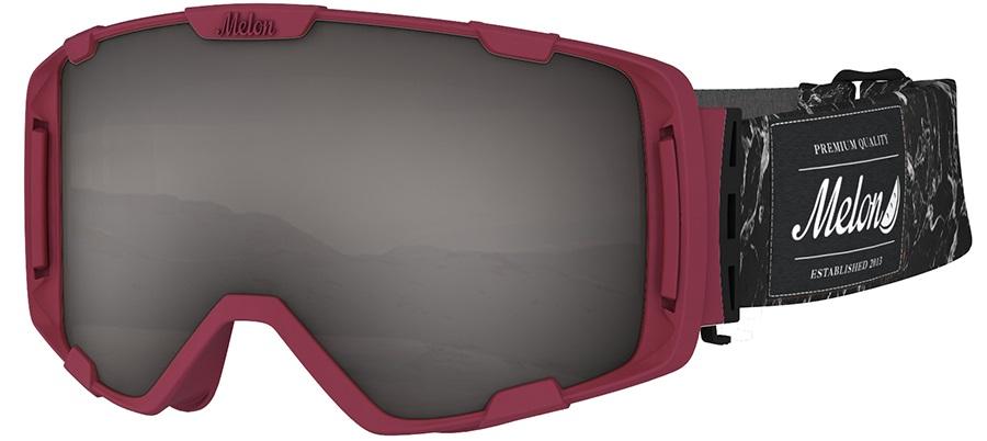 Melon Parker Dark Smoke Snowboard/Ski Goggle, M/L Bubblegum Orange