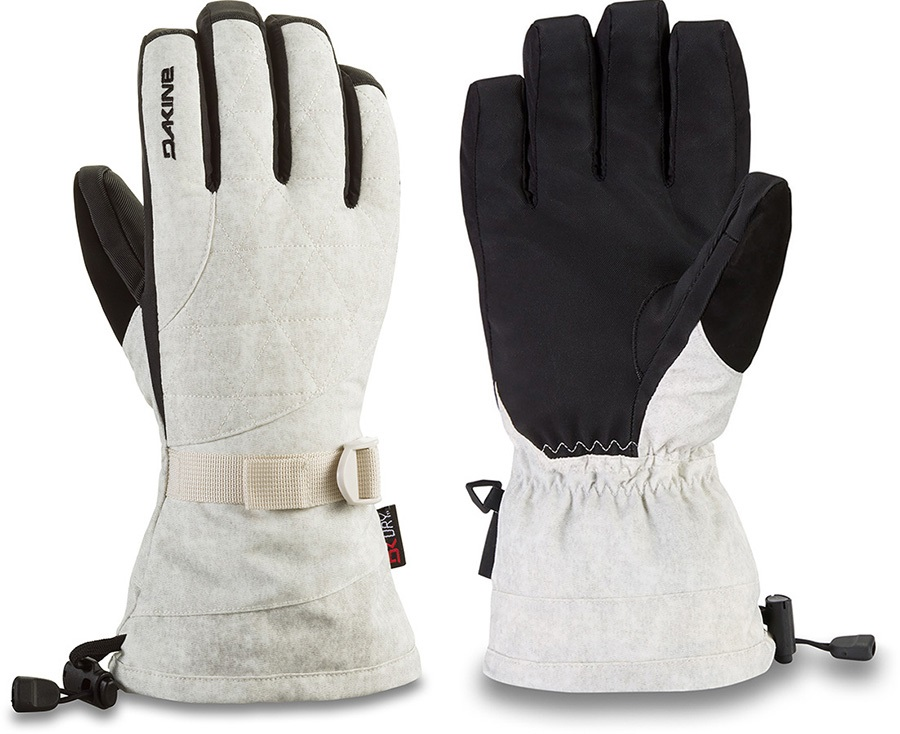 Dakine Camino DK Dry Women's Snowboard/Ski Gloves, XS Glacier