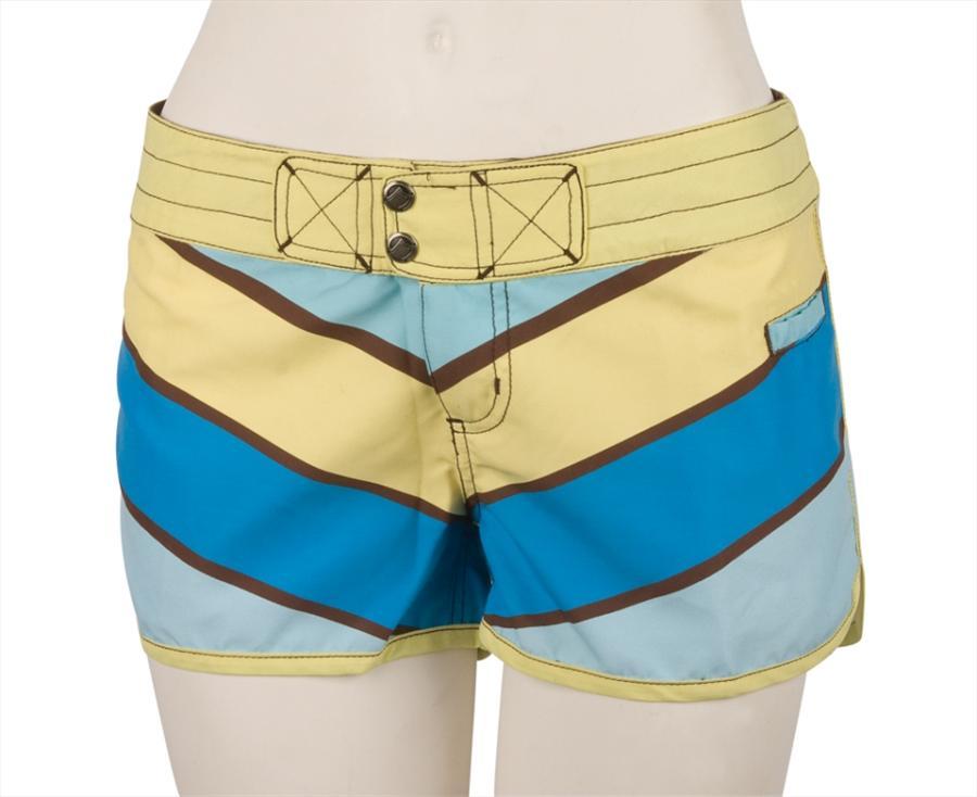 Liquid Force Sunny Board Shorts, UK 8 US 4 Eur 36 Blue