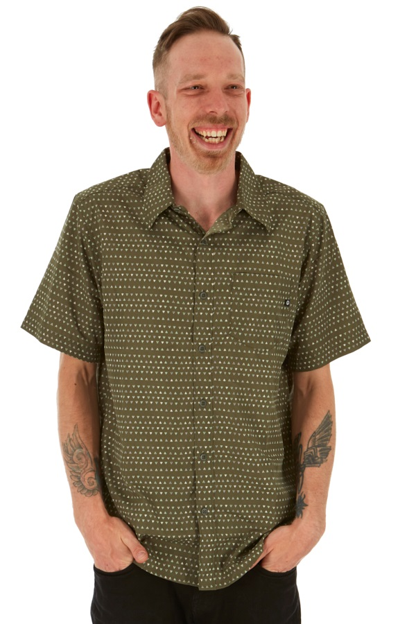 Marmot Lykhen Technical SS Shirt, M Crocodile Angles