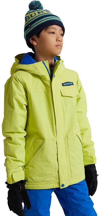 Burton Dugout Boy's Snowboard/Ski Jacket, M Limeade