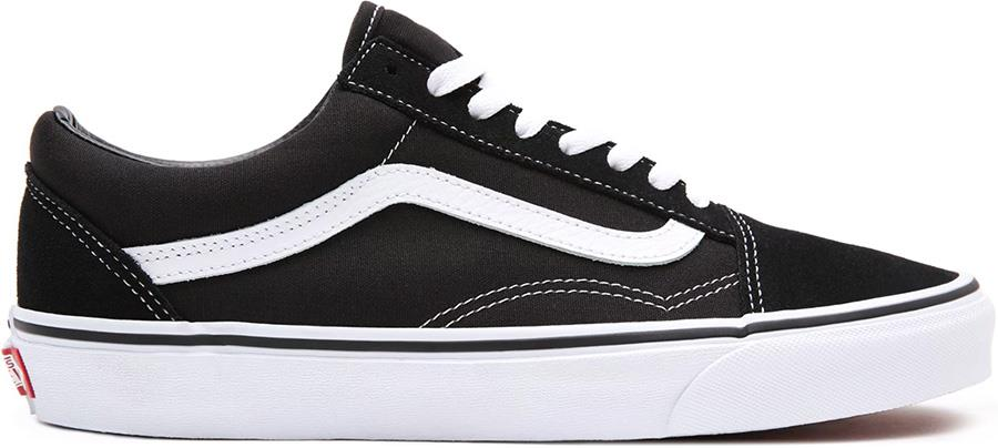 Vans Old Skool Skate Trainers/Shoes, UK 7.5 Black/White