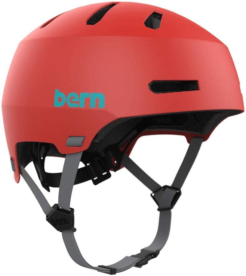 Bern Macon H2O Watersports Helmet, S Hyper Red 2021