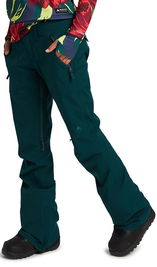 Burton Womens Vida Women's Ski/Snowboard Pants, Xs Ponderosa Pine