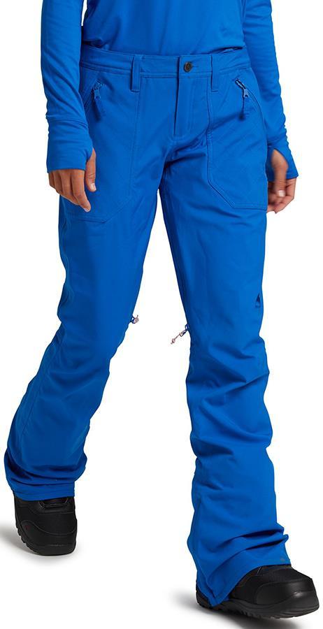 Burton Womens Vida Women's Ski/Snowboard Pants, S Lapis Blue