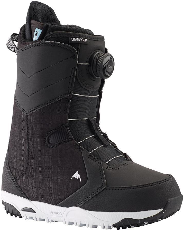 Burton Limelight Boa Women's Snowboard Boots, UK 4.5 Black 2021