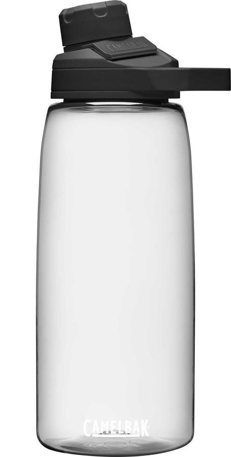 Camelbak Chute Mag Water Bottle With Magnetic Cap, 1L Clear