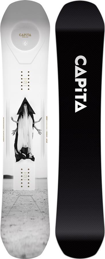 Capita SuperDOA Hybrid Camber Snowboard, 154cm 2022