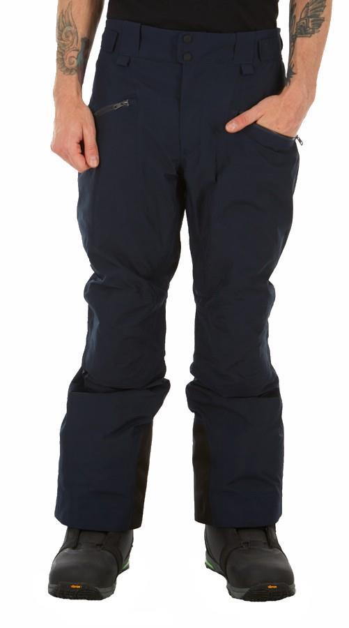 Peak Performance Peakville GTX Snowboard/Ski Pants, M Blue Shadow