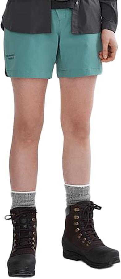Klattermusen Vanadis 2.0 Womens WindStretch™ Shorts UK 12 Brush Green