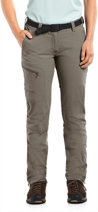 Maier Sports Inara Slim Reg Stretch Hiking Pants, UK 12 Teak