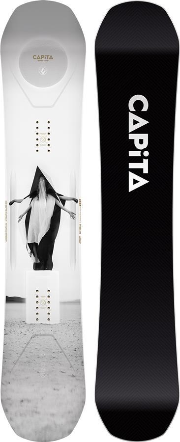 Capita SuperDOA Hybrid Camber Snowboard, 158cm 2022