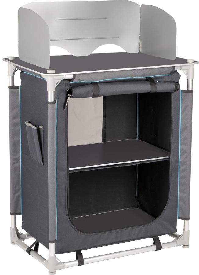 Bo-Camp Moraine Cooking Unit Folding Camping Tavel Cabinet
