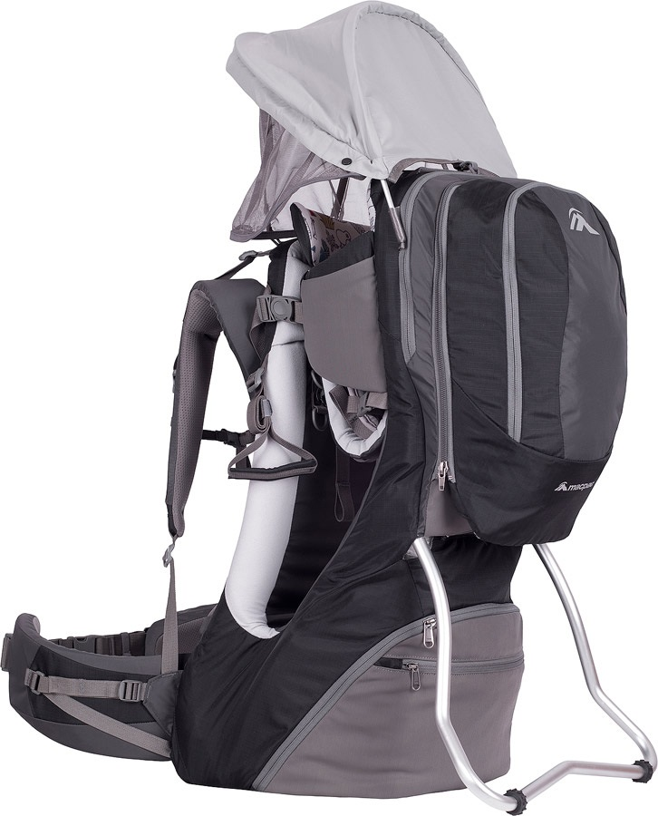 Macpac Vamoose V2 Child Carrier Backpack S2 Black/Charcoal