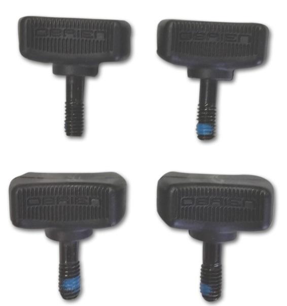 O'Brien Binding Thumbscrew Wakeboard Binding Kit Metric