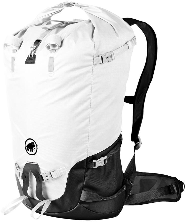 Mammut Trion Light 28 Alpine Backpack, 28+L White Black