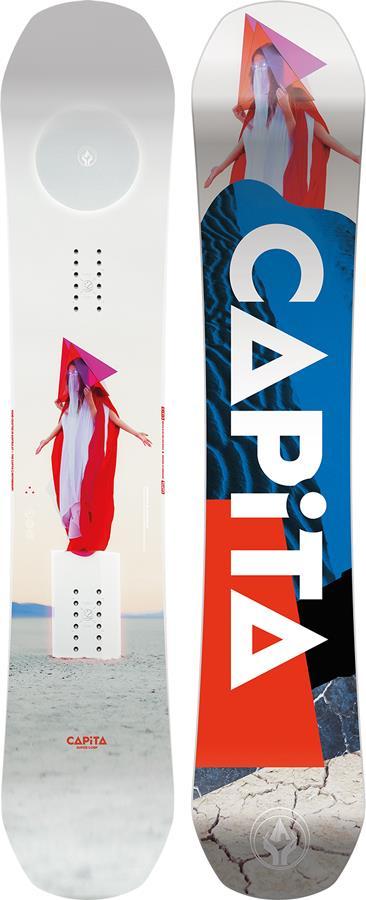 Capita DOA Hybrid Camber Snowboard, 162cm 2022