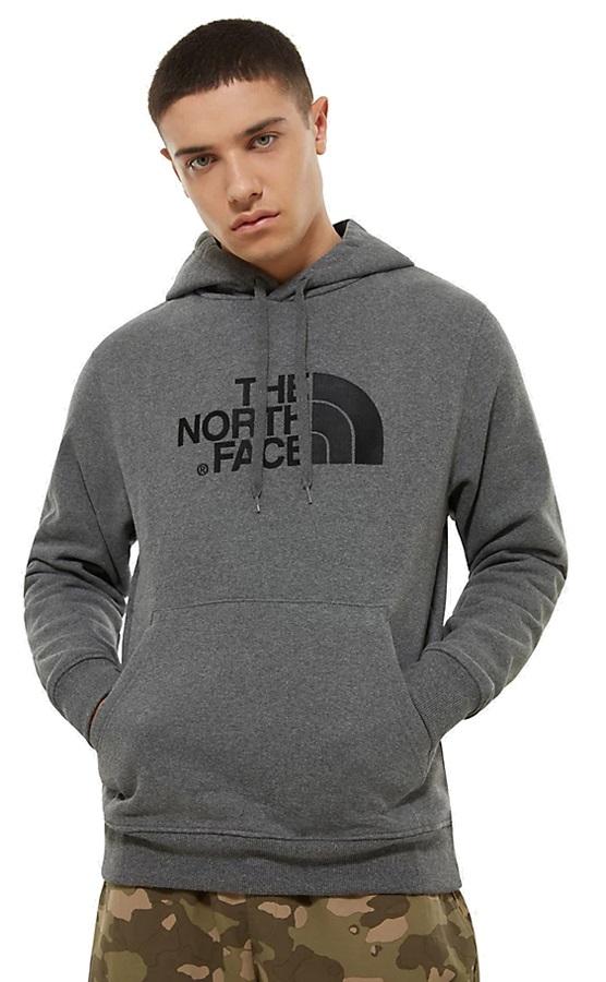 The North Face Drew Peak Men's Pullover Hoodie, S Grey Heather