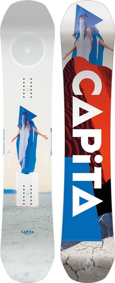 Capita DOA Hybrid Camber Snowboard, 163cm Wide 2022