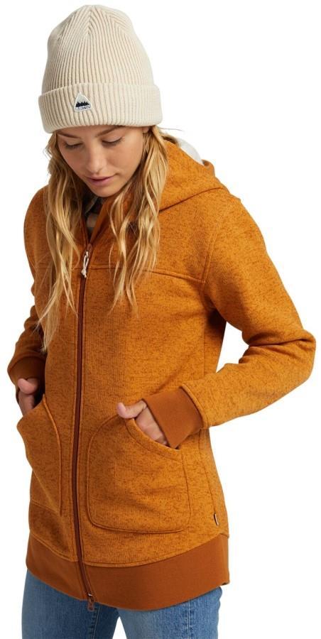 Burton Women's Minxy Women's Full-Zip Fleece S True Penny Heather