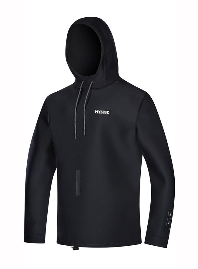 Mystic Star 2mm Neoprene Sweat Top, L Black 2021
