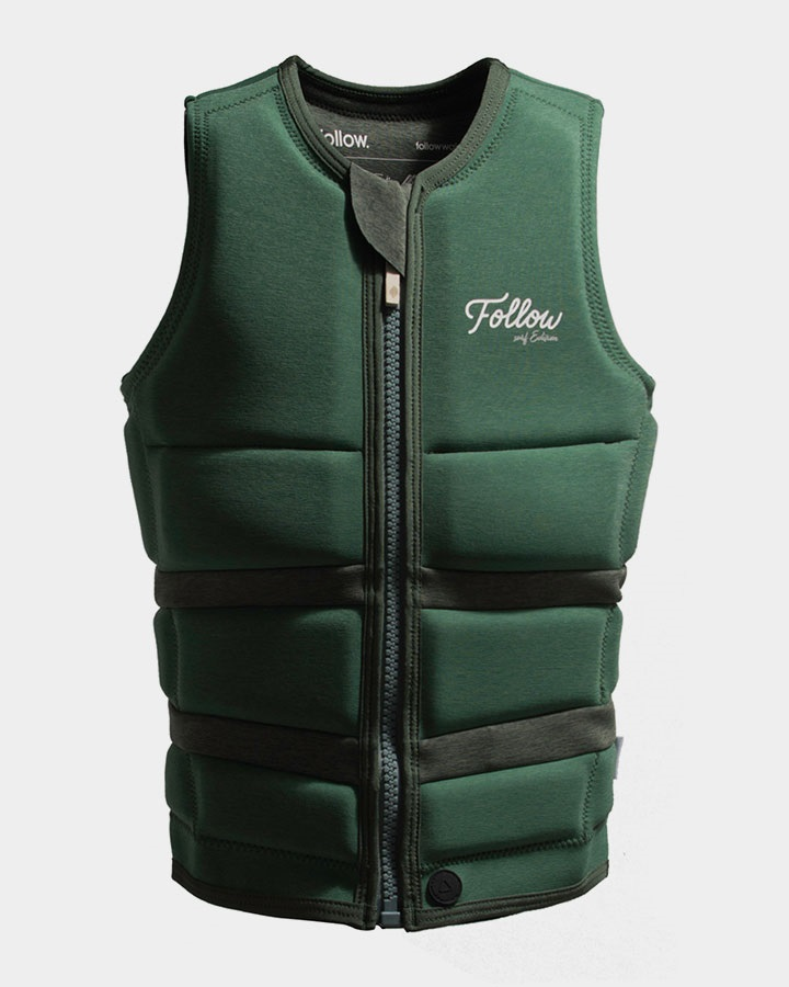 Follow Surf Edition Ladies Wakeboard Impact Vest, L Olive 2020