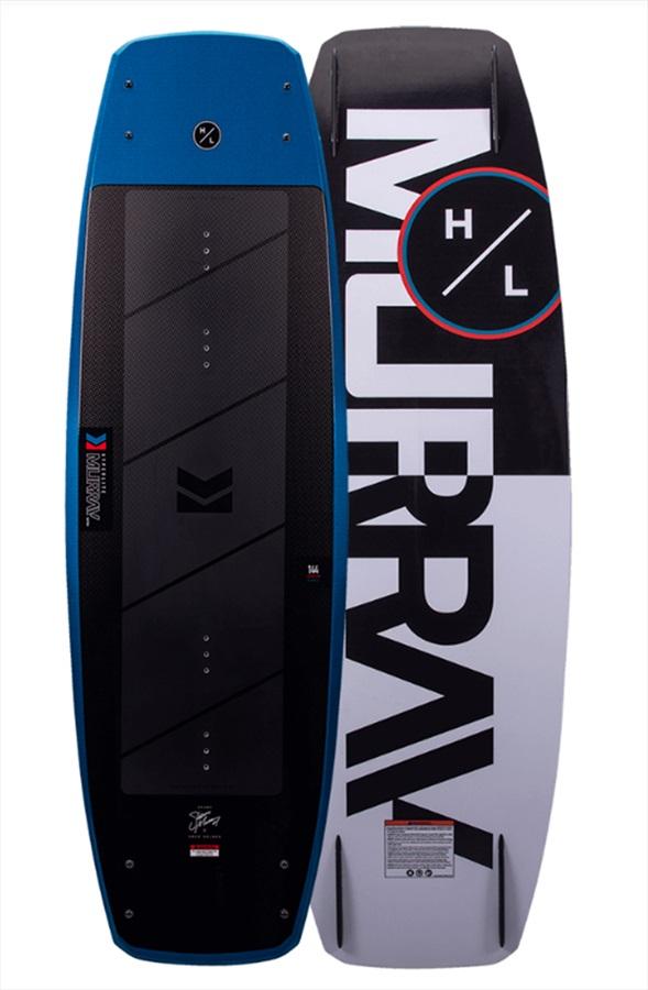Hyperlite Murray Pro Boat Wakeboard, 139 Black Blue 2021