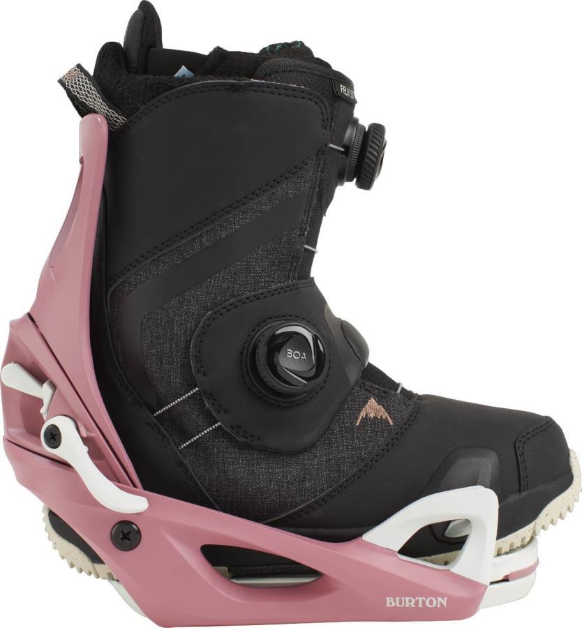 Burton Felix Step On Womens Snowboard Binding & Boots UK 5.5 Dust 2021