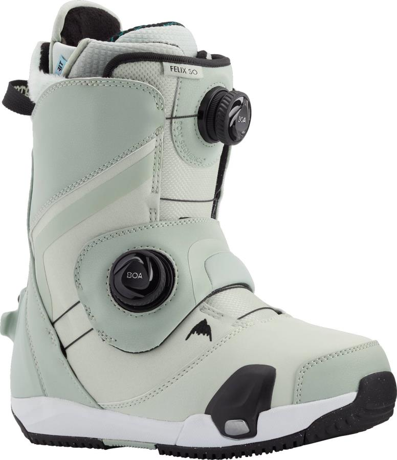 Burton Felix Step On Womens Snowboard Boots, UK 5.5 Neo-Mint 2021