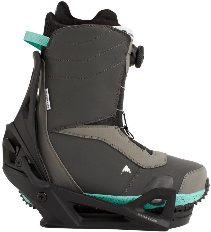 Burton Ruler Step On Snowboard Bindings & Boots, UK 10 Gray 2021