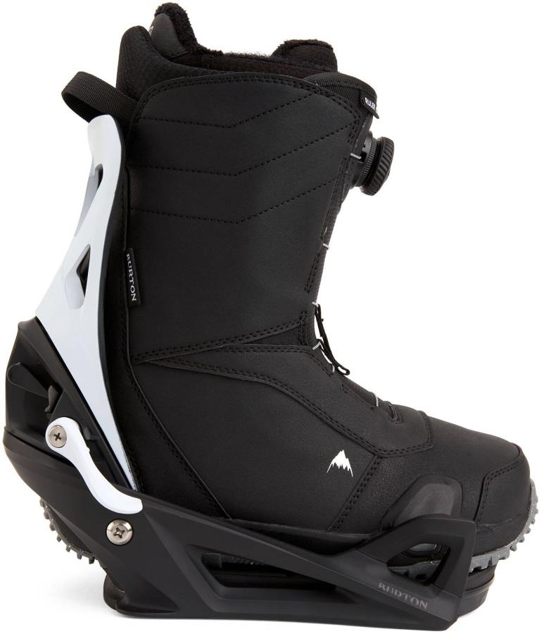 Burton Ruler Step On Snowboard Bindings & Boots, UK 7 Black X 2021