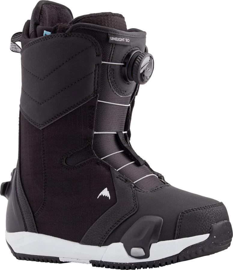 Burton Limelight Step On Womens Snowboard Boots, UK 5.5 Black 2021