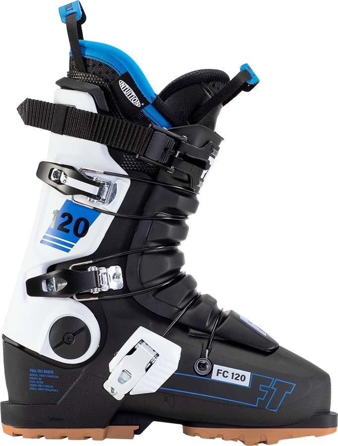 Full Tilt First Chair 120 GW Ski Boots, 25/25.5 Black/White/Blue 2022