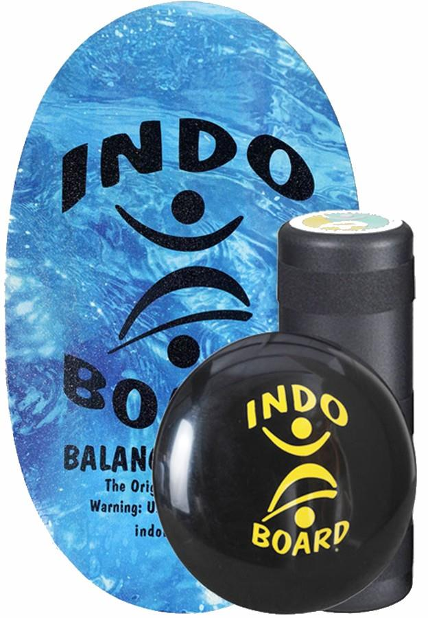 Indo Board Adult Unisex Original Balance Training Pack, One Size Sparkling Water