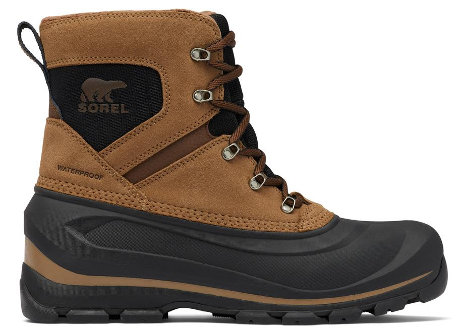 Sorel Buxton Lace Men's Snow Winter Boots, UK 7.5 Delta/Black