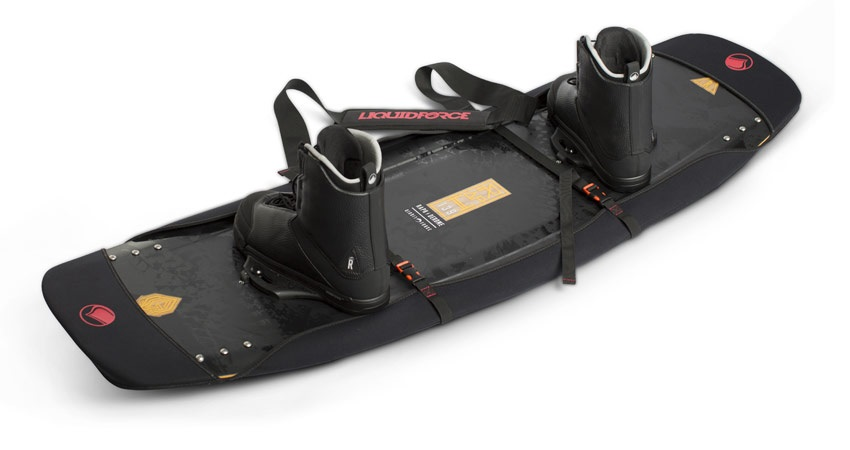 Liquid Force Edge Protector DLX Wakeboard Bag, Up To 136 Black