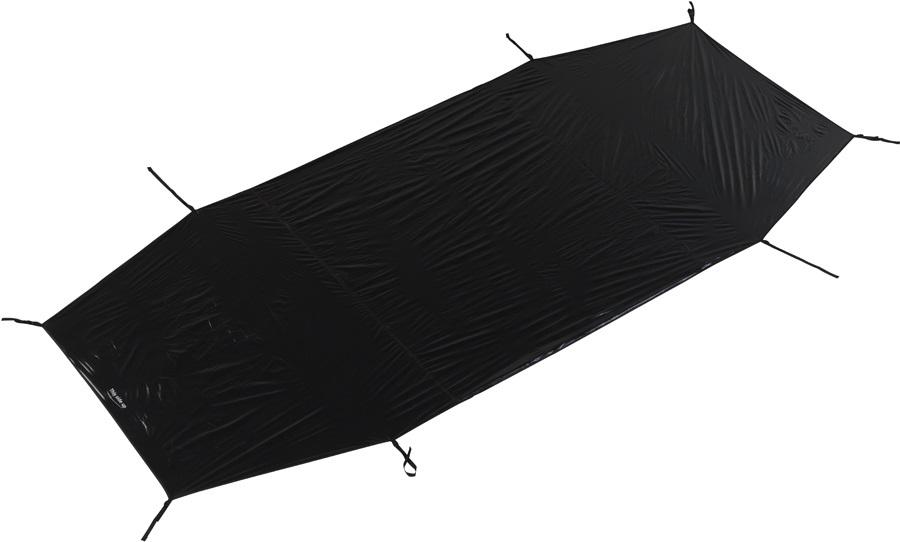 Nordisk Tent Footprint Oppland 3 Waterproof Groundsheet, Black