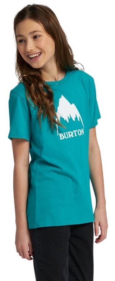Burton Child Unisex Kid's Classic Mountain High Short Sleeve T Shirt, M Dynasty