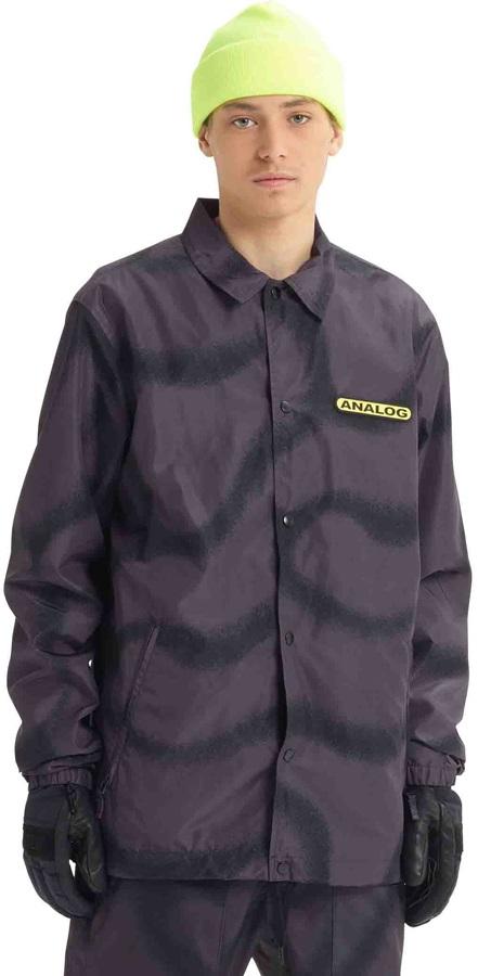 Analog Sparkwave Coaches Ski/Snowboard Jacket, S Fat Cap Camo