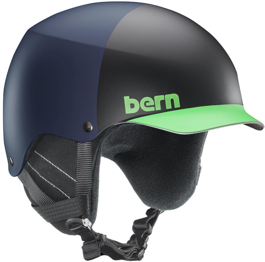 Bern Baker EPS MIPS Snowboard/Ski Helmet, M Matte Blue Hatstyle