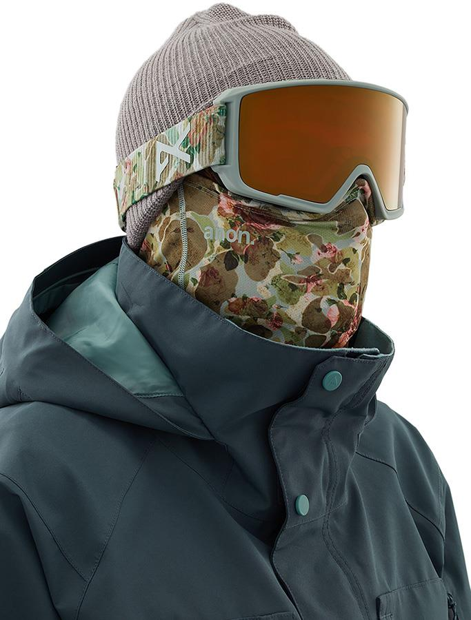 Anon Mesh Neckwarmer MFI Facemask, Relaxed Fit Camo