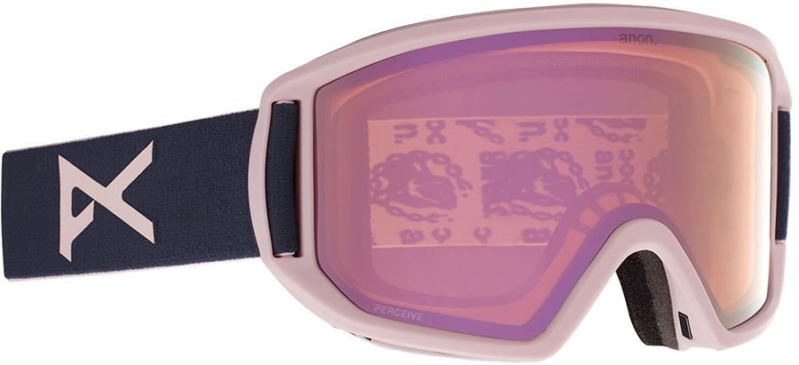 Anon Relapse MFI Perceive Pink Ski/Snowboard Goggles M/L Pat Rogasch