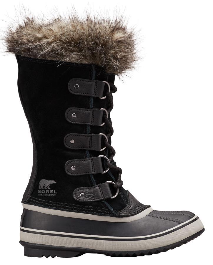 Sorel Womens Joan Of Arctic Women's Snow Boots, Uk 6 Black/Quarry