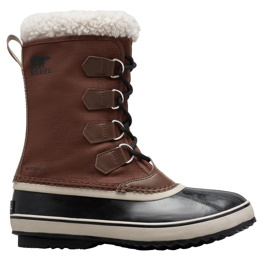 Sorel 1964 Pac Nylon Men's Winter Snow Boots, UK 7 Tobacco/Black