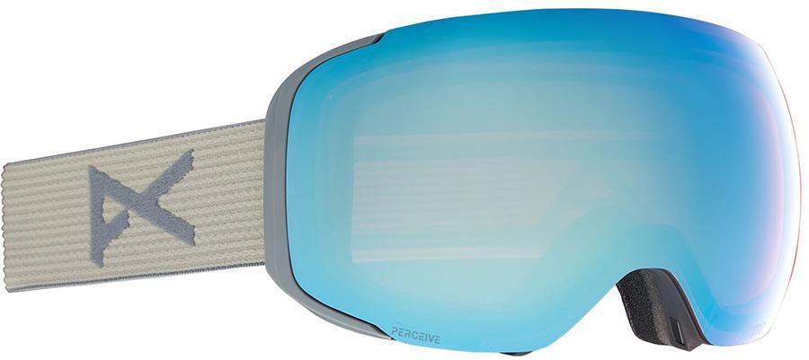Anon M2 Perceive Variable Blue Ski/Snowboard Goggles, M/L Grey