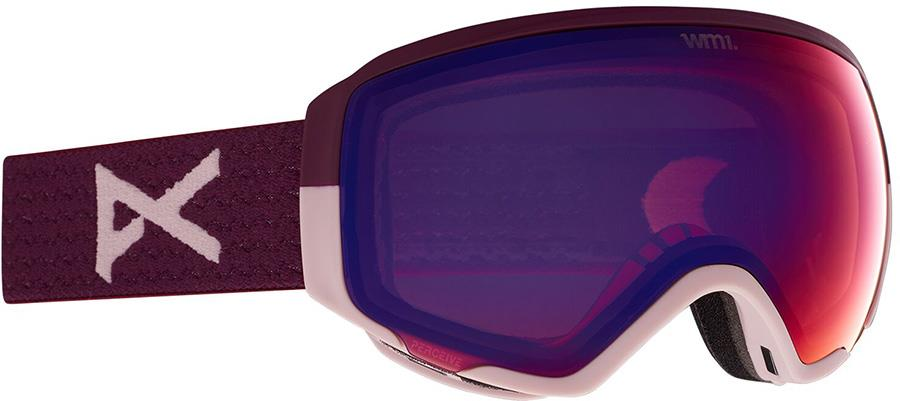 Anon WM1 Perceive Violet Women's Ski/Snowboard Goggles, S/M Purple