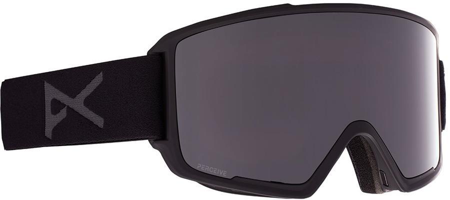 Anon M3 Perceive Sunny Onyx Ski/Snowboard Goggles, M/L Smoke