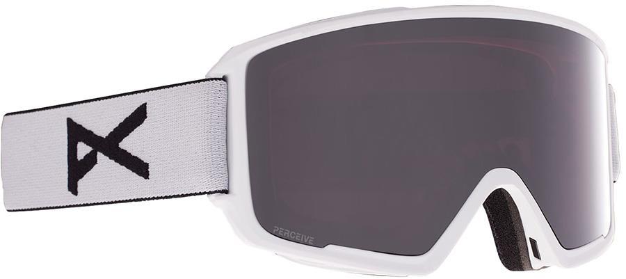 Anon M3 Perceive Sunny Onyx Ski/Snowboard Goggles, M/L White