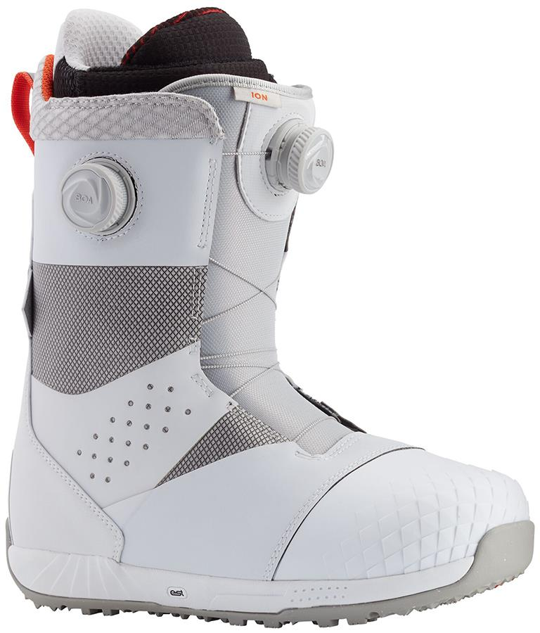 Burton Ion Boa Men's Snowboard Boots, UK 9 White 2021