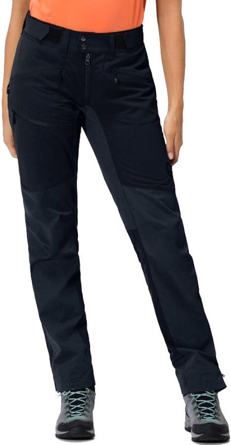 Norrona Falketind Flex1 Heavy Duty Women's Shell Pants, UK 12 Caviar